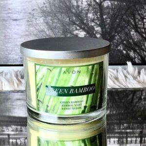Avon Green Bamboo 11oz Candle NWB